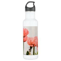 Poppy Picture Water Bottle