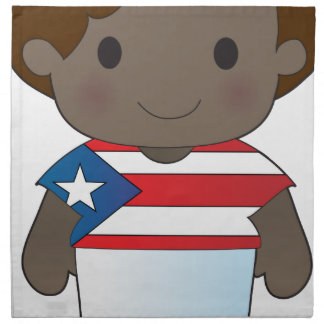 Poppy Puerto Rico Boy Printed Napkins