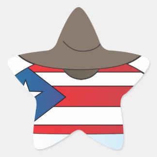 Poppy Puerto Rico Boy Star Stickers