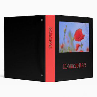 Poppy Remembrance Binder