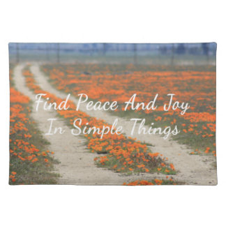 Poppy Road Placemat