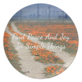 Poppy Road Plate