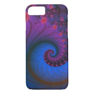 Poppy Row Vortex iPhone 7 case