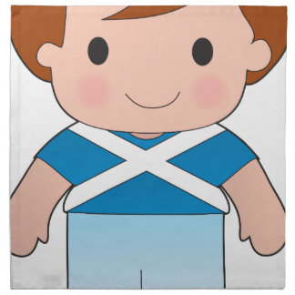 Poppy Scotland Boy Napkin