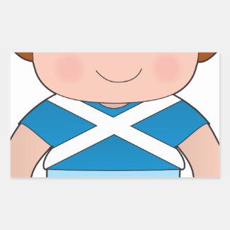 Poppy Scotland Boy Sticker