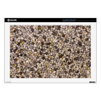 """Poppy seed skin for 17"""" laptop"""