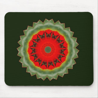 Poppy shadow mouse pad