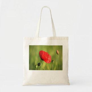Poppy Single 2 Tote Bag