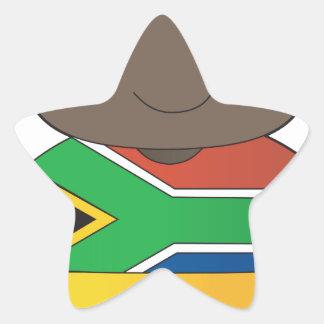 Poppy South Africa Boy Star Stickers