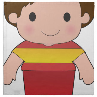 Poppy Spain Boy Cloth Napkins