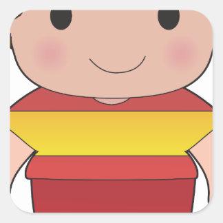 Poppy Spain Boy Stickers