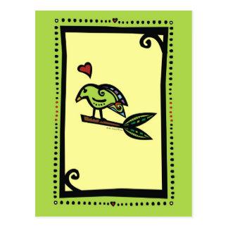 """POPPY"" THE LOVE BIRD POST CARDS"