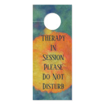 Poppy- Therapy In Session Do Not Disturb Door Hanger