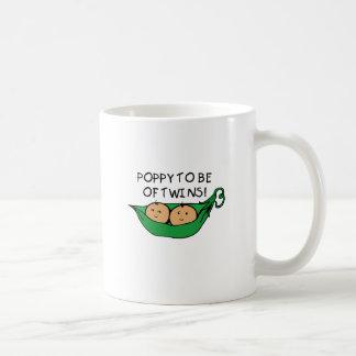 Poppy To Be Of Twins Coffee Mug
