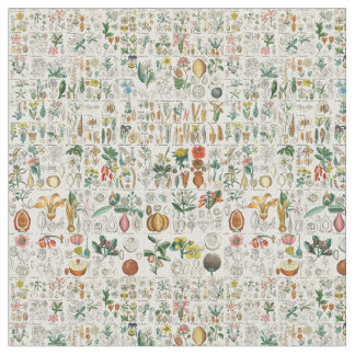 Poppy, Violet Plant Classifications Fabric