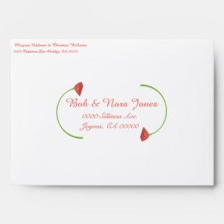 Poppy Wedding Collection Envelopes
