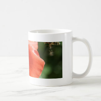 Poppy with Hover Fly Mug