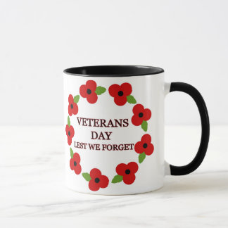 Poppy wreath - Mug