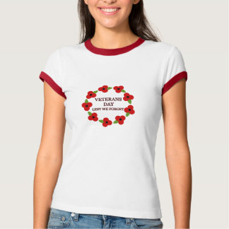 Poppy wreath - T-shirt