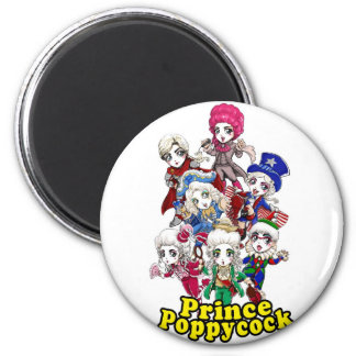 Poppycock Party Magnet