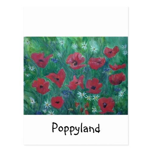 Poppyland Postcard