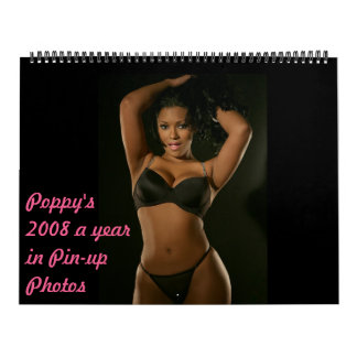 Poppy's 2008 Pin-up... Calendar
