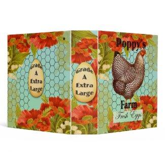 Poppys eggs binder binder
