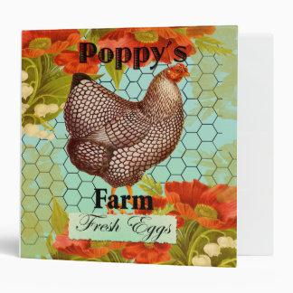 Poppys eggs binder