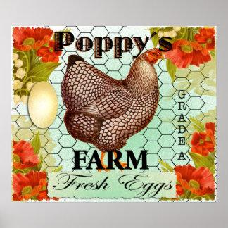 POPPYS FARM POSTER