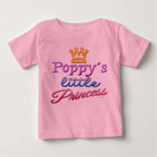 Poppy's Little Princess Baby Toddler T-Shirt