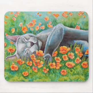 Poppy's Poppies Mouse Pad
