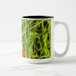 Poppys Van Goth Art Two-Tone Coffee Mug
