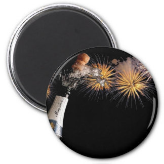 Pops And Bangs - No Message 2 Inch Round Magnet