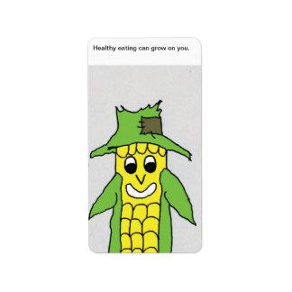 Pops corn label