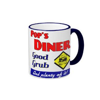 Pops Diner Kitchen Art Coffee Mug