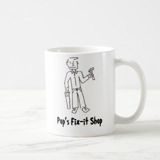Pop's Fix-it Shop Mugs