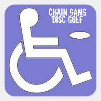 Pops Handicap Sticker