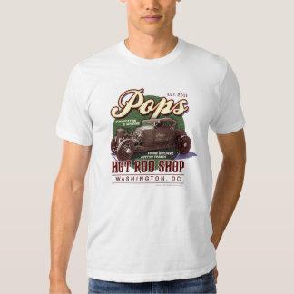 Pop's Hot Rod Shop -- Washington DC Tee Shirt
