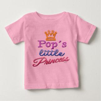 Pop's Little Princess Baby Toddler T-Shirt