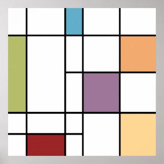 Pops Of Color Print