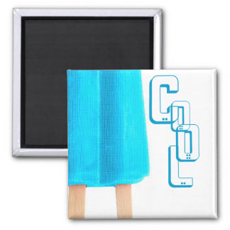 POPSICLE 2 INCH SQUARE MAGNET