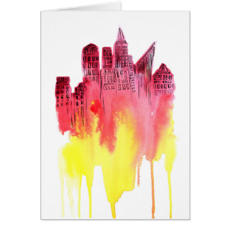 Popsicle City Card