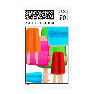 POPSICLE COLLAGE POSTAGE
