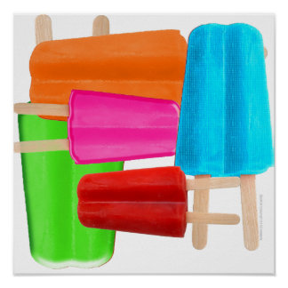 POPSICLE COLLAGE PRINT