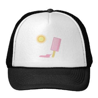 Popsicle de fusión gorras de camionero