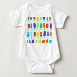 Popsicle Ice Lolly Baby Bodysuit