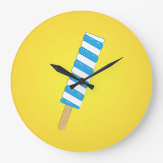 Popsicle Large Clock