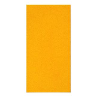 popsicle orange photo greeting card