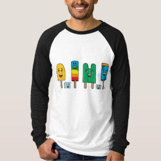Popsicle Parade - Long Sleeve Raglan T-Shirt