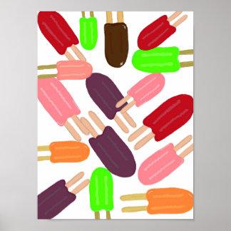 Popsicle Paradise Print